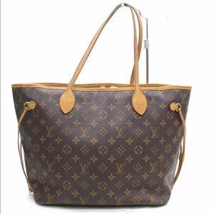 d67168a418f3 Authentic Louis Vuitton Monogram Neverfull MM Bag